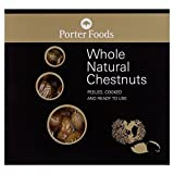 Porters Whole Chestnuts 200g - Pack of 6