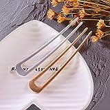 [4 Pack] Benefree U-Shape Hairpins, Bride Hair