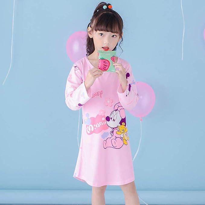 Primavera Y Otoño De Dibujos Animados Infantiles Pijamas Niñas Camisón De Algodón De Manga Larga Vestido Aisha Big Niña Camisón, 16-12码: Amazon.es: Ropa y accesorios