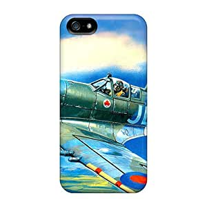 Snap On Hard Cases Covers Airplane Over The Bay Protector For Iphone 5/5s