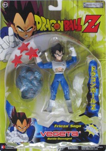 "Dragonball Z 5"" BATTLE DAMAGED VEGETA (FRIEZA'S SAGA) Act..."