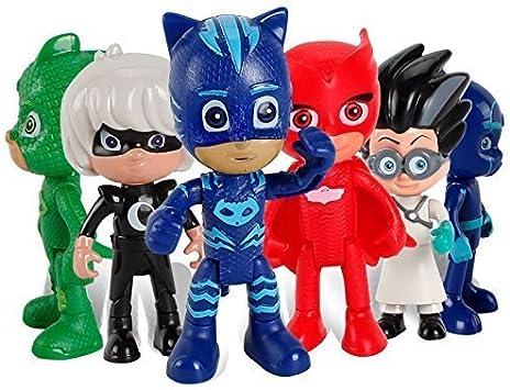 PJ Masks Juguetes - PJ Masks Toys 6 Pcs Moving Figures ...