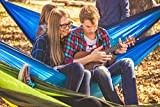 CHILLAX Blue - Double Travel Hammock with
