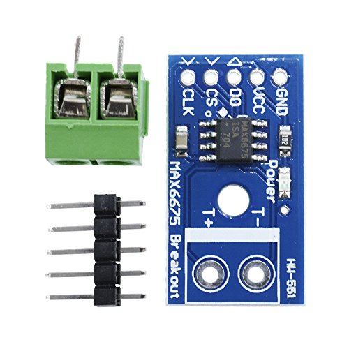 Thermocouple Amplifier (Aideepen MAX6675 Thermocouple Temperature Sensor Module Type K SPI Interface for Arduino)
