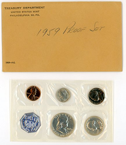 Gold State Quarter Set - 1959 P United States Opened Set- Proof