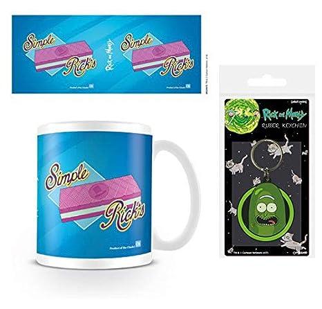 Set: Rick Y Morty, Simple Ricks Taza Foto (9x8 cm) Y 1 Rick ...