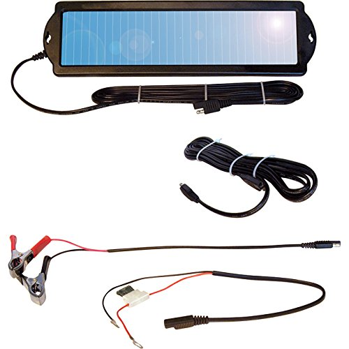 NPower Solar Powersports Battery Maintainer - 1.5 Watts, 12 Volt