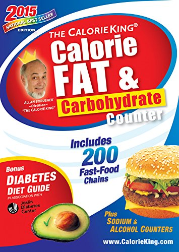 The CalorieKing Calorie, Fat & Carbohydrate Counter 2015: Larger Print Edition