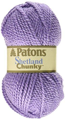 (Spinrite Shetland Chunky Yarn, Lavender)