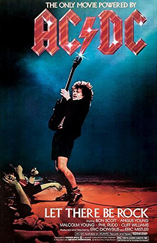 - AC/DC: Let There Be Rock - 1980 - Movie Poster