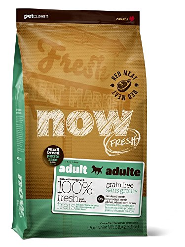 Cheap Now Fresh Grain Free Adult Small Breed Red Meat Recipe Dry Dog Food, 6 Pound