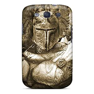 Flexible Tpu Back Case Cover For Galaxy S3 - Knight