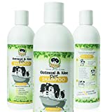 Best Oatmeal Dog Shampoos - Natural Hypoallergenic Oatmeal Dog Shampoo: Itchy Dry Sensitive Review