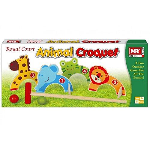 M.Y Outdoor Games - Animal Croquet - Children's Outdoor Games by KT