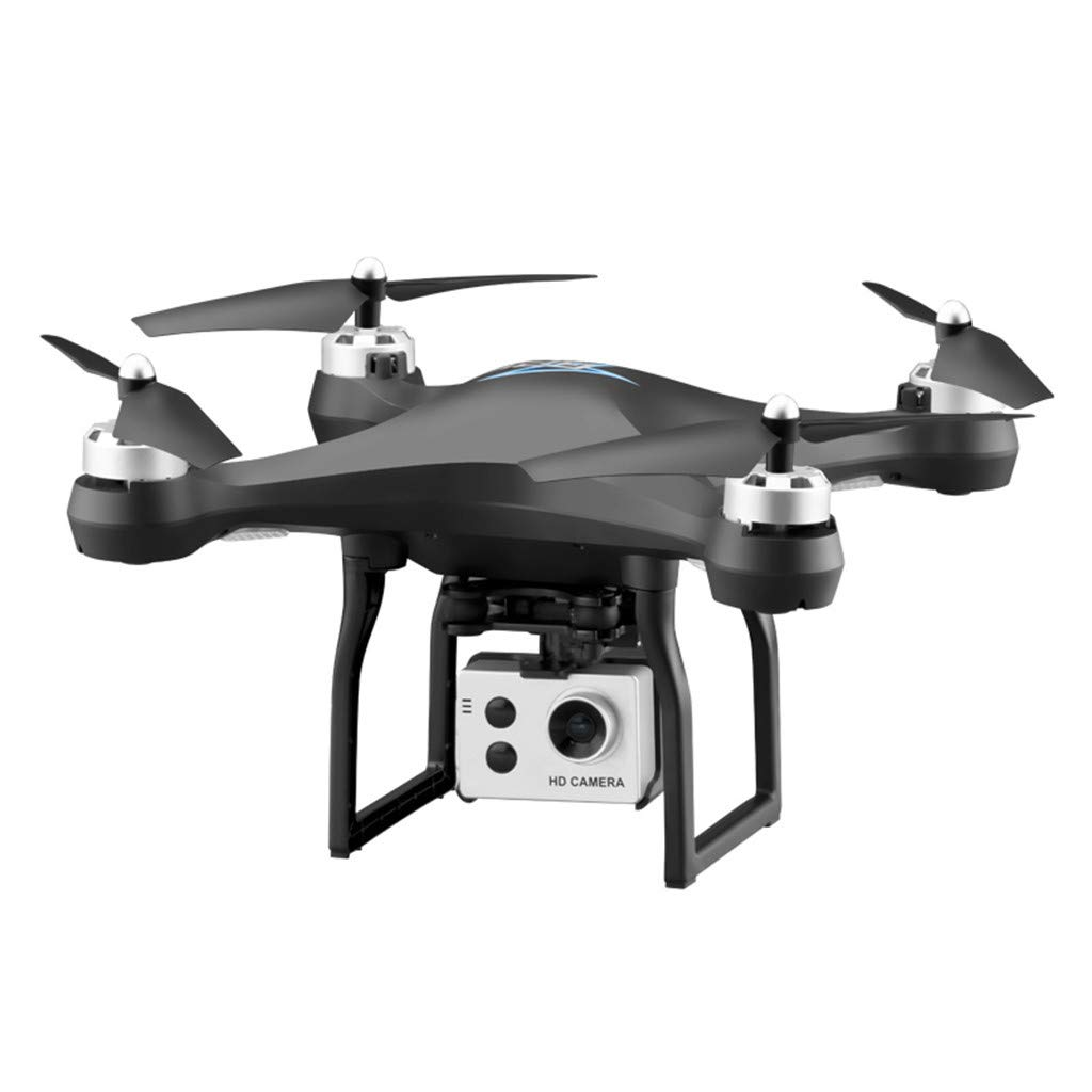 Mitlfuny RC Quadrocopter Drohne,S2 5MP 1080P Weißwinkel-WiFi FPV HD Kamera GPS Folgen RC-Drohne-Quadrocopter schwarz