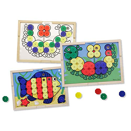 Melissa & Doug Sort and Snap Color Match - Sorting and Patterns Educational Toy (Renewed)