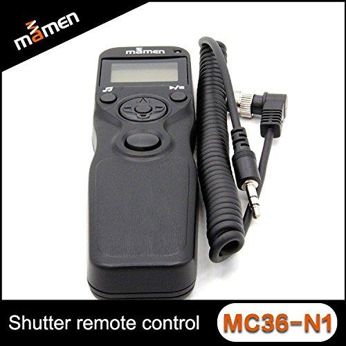 LCD Timer Shutter Release Remote Control for Canon / Nikon Mamen