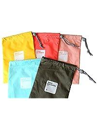 Travel packing arganizer four psc set waterproof bundle pocket Shoes Bag cosmetics/Laundry Bag
