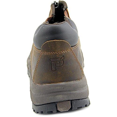 Propet Fairbanks Ankle Zip Hombre Piel Zapato de Senderismo