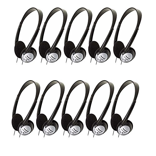 Panasonic Stereo Headphones RP HT21 10 Pack