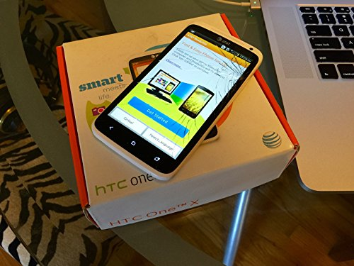 HTC One X 16GB Unlocked GSM 4G LTE Dual-Core Smartphone - White (Htc One Cell Phone Straight Talk)