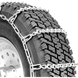Security Chain Company QG2821 Quik Grip V-Bar Light Truck LRS Tire Traction Chain - Set of 2