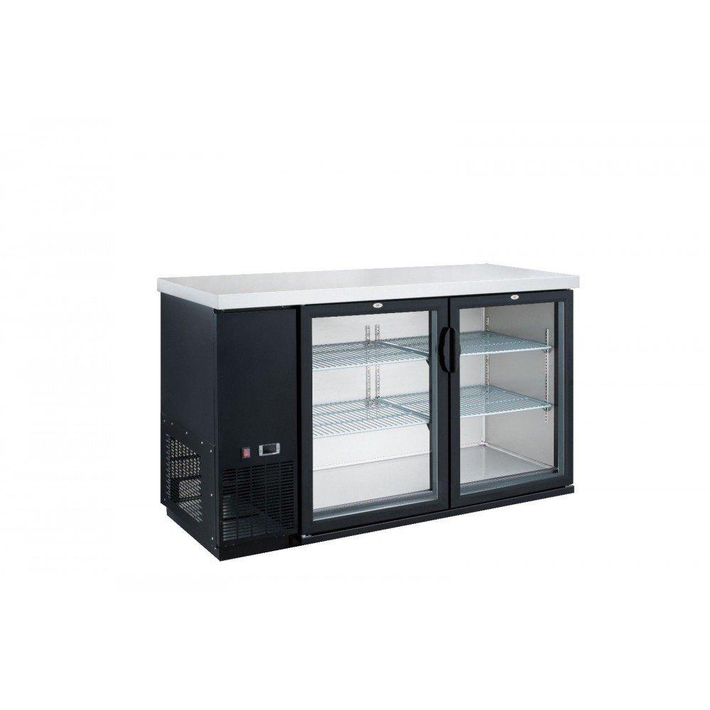 Dukers DBB60-H2 15.2 cu. ft. 2 Door Bar and Beverage Cooler, Hinge Doors