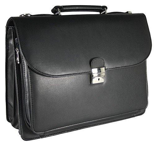 Herren Tasche Arbeitstasche Aktentasche Tasche Akten Tasche Umhängetasche Schultertasche Dokumenten Business Büro
