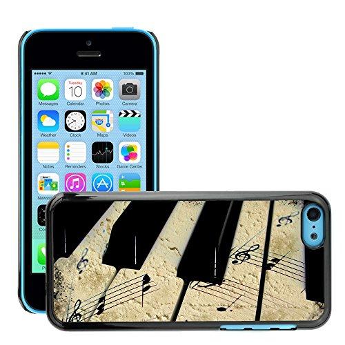 Premio Sottile Slim Cassa Custodia Case Cover Shell // V00001823 Grunge musique // Apple iPhone 5C