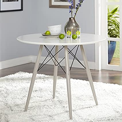 Amazon.com - Simple Living Elba Mid-Century Dining Table ...