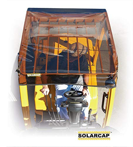 Used, EEVELLEinc. Solarcap Forklift Sun Rain Canopy Tinted for sale  Delivered anywhere in USA