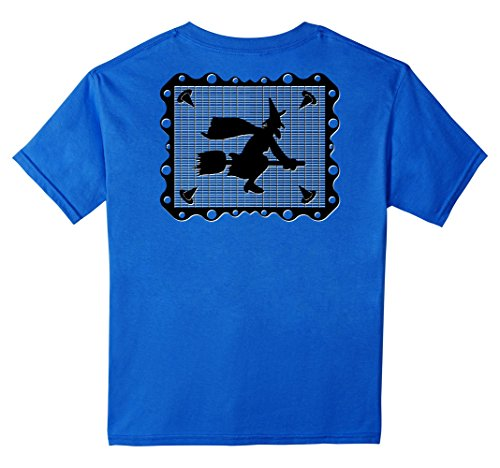 Kids Chicano Halloween Witch Mexican Papel Picado Novelty...