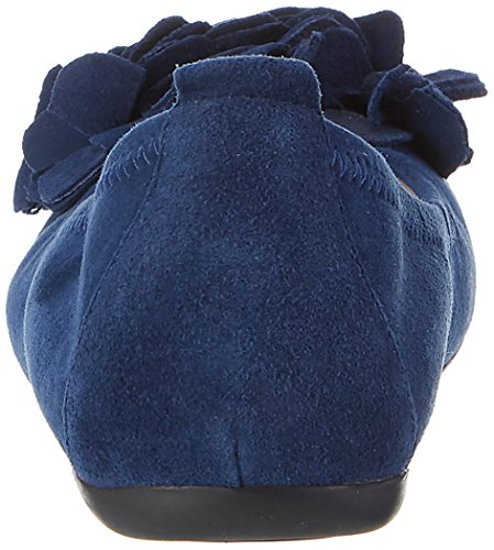 Hirschkogel Dames 0097407 Gesloten Ballerina Blauw (d.blau 017)