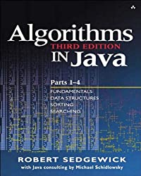 Algorithms in Java, Parts 1-4 (3rd Edition): Pts.1-4