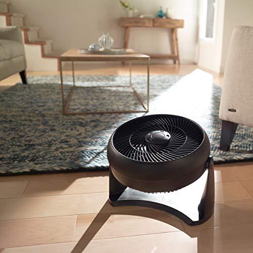 Honeywell HT-908 TurboForce Room Air Circulator Fan, Medium, Black