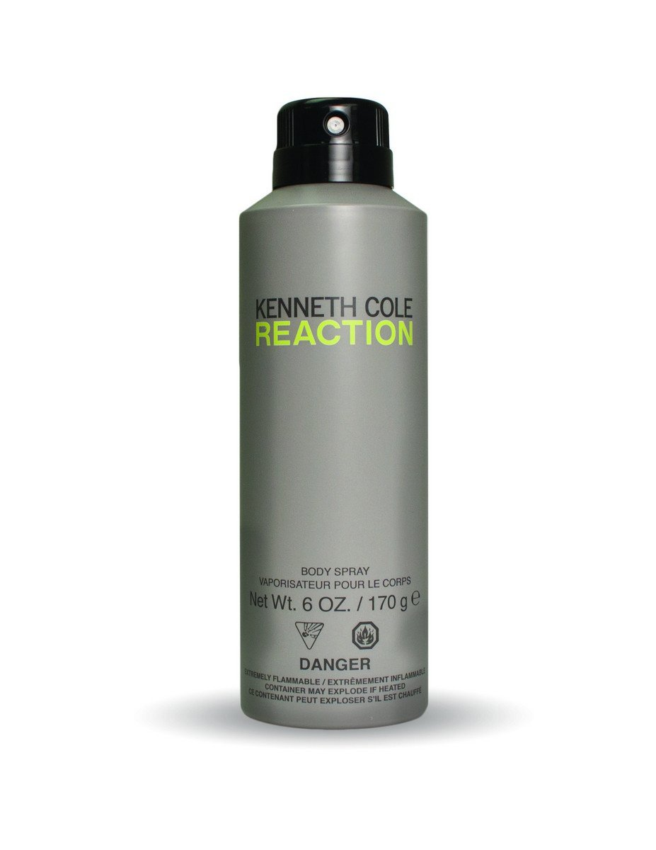 Kenneth Cole Reaction Body Spray, 6.0 Oz