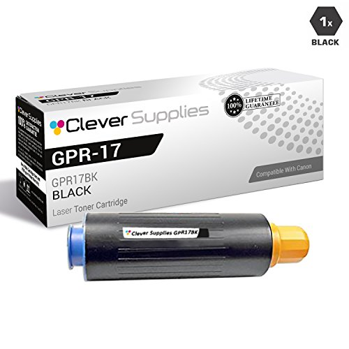 CS Compatible for Canon GPR-17 0279B003AA Black Canon ImageRunner 5070 ImageRunner 5570 ImageRunner 6570 Toner Cartridge