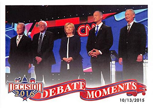 hillary-clinton-bernie-sanders-trading-card-2016-presidential-election-73-democratic-debate-cnn