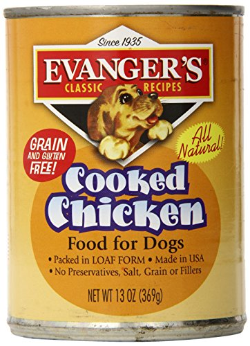 Cheap Evanger'S 12-Pack Natural Classic Cooked Chicken Supplement For Dogs, 13-Ounce