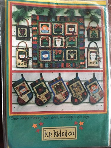 - Stockings, Gift Bags, and Wall Quilt - Christmas Patterns