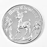 #8: 2017 Rudolph the Red Nosed Reindeer Christmas Round 1oz .999 Fine Silver Silver Brilliant Uncirculated