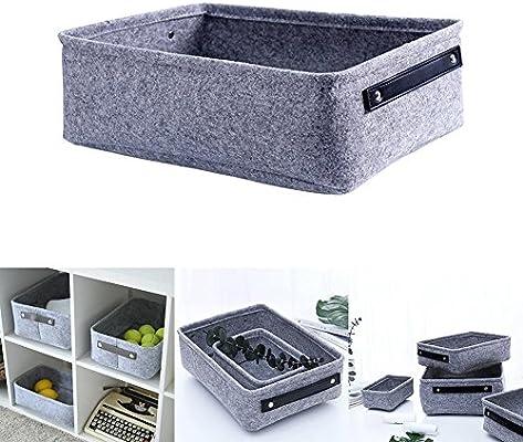 Cajas de almacenamiento de tela, compartimiento de almacenamiento ...