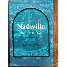 Nashville Since the 1920s