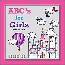Amazon com: ABC's for Girls (Alphabet Book, Baby Book