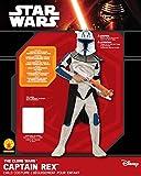 Star Wars Clone Wars Clone Trooper Childs Captain Rex Costume, Medium