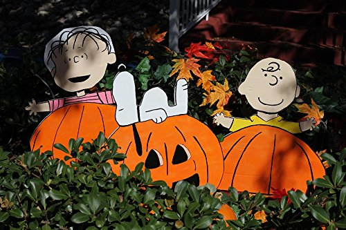 Home Comforts Peel-n-Stick Poster of Snoopy Pumpkin Thanksgiving Charlie Brown Halloween Poster 24x16 Adhesive Sticker Poster Print