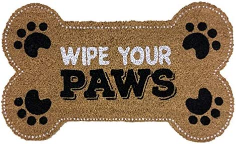 Briarwood Lane Wipe Your Paws Pet Coir Doormat Everyday Animal Lover Outdoor 18 x 30