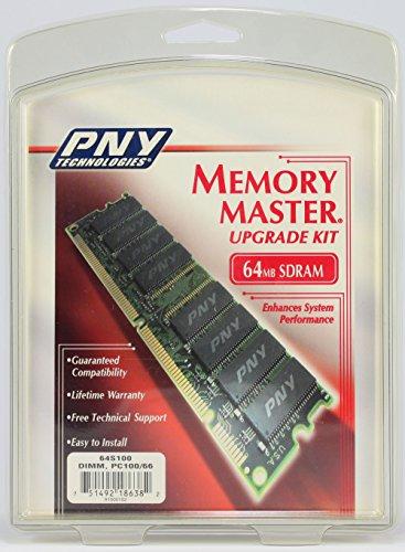 PNY - Memory - 64 MB - DIMM 168-pin - SDRAM - 100 MHz / PC100