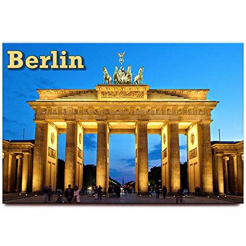 Amazon.com: Imán para nevera de Brandenburger Tor Berlin ...