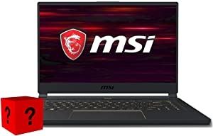 "XPC Essential MSI GS65 Stealth Gamer Notebook Series 15.6"" Full HD 144Hz Intel i7 9th Gen 9750H GeForce GTX 1660 Ti 32GB DDR4 2x500GB NVMe SSD Windows 10 Gaming Laptop Computer PC"